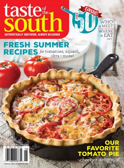 Taste of the South Cover - 7/1/2017