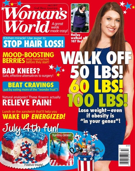 Woman's World Cover - 7/3/2017