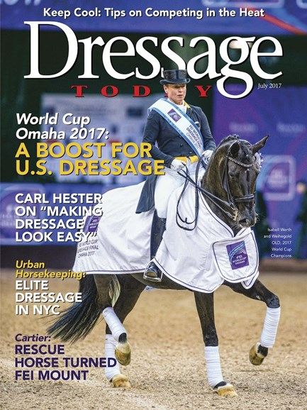 Dressage Today Cover - 7/1/2017