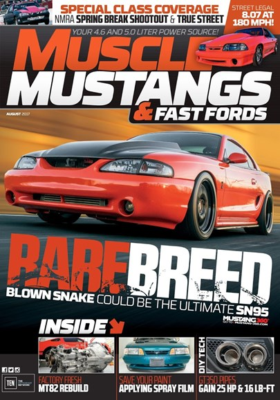 Muscle Mustangs & Fast Fords Cover - 8/1/2017