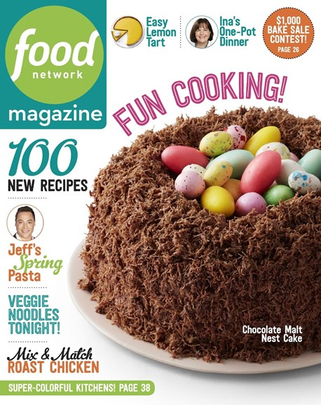 Food Network Cover - 4/1/2017