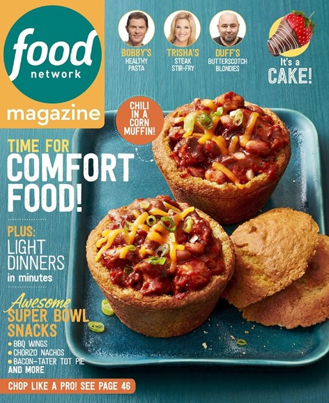 Food Network Cover - 1/1/2016