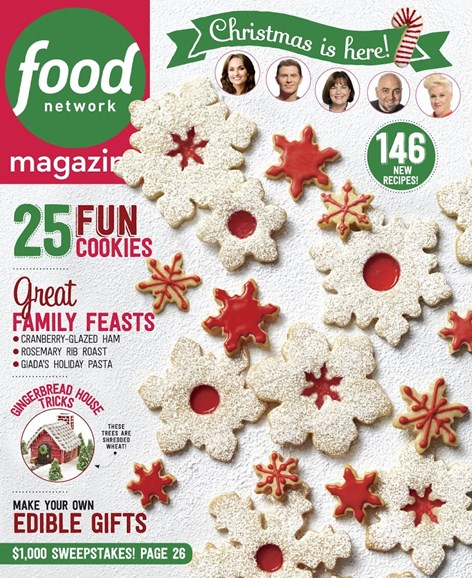 Food Network Cover - 12/1/2015