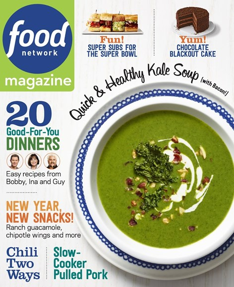 Food Network Cover - 1/1/2015