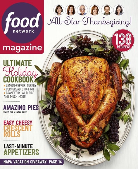 Food Network Cover - 11/1/2015