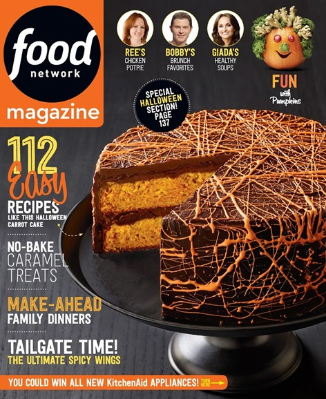 Food Network Cover - 10/1/2015