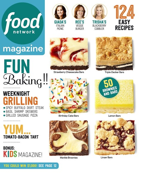 Food Network Cover - 9/1/2015