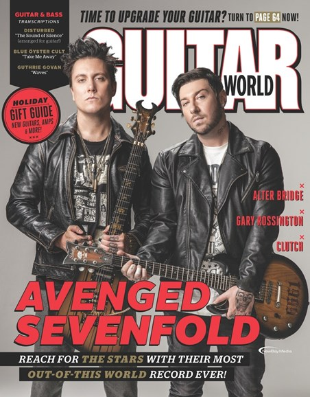 Guitar World Cover - 1/1/2017