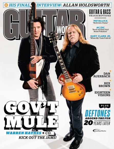 Guitar World Cover - 7/1/2017