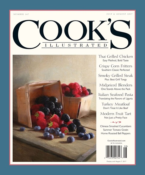 Cook's Illustrated Cover - 7/1/2017