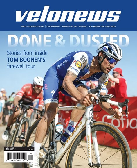 VeloNews Cover - 6/1/2017