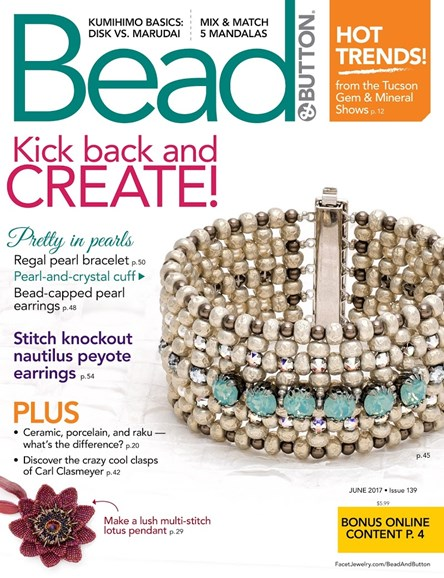 Bead & Button Cover - 6/1/2017