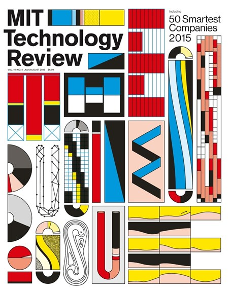 MIT Technology Review Cover - 7/1/2015