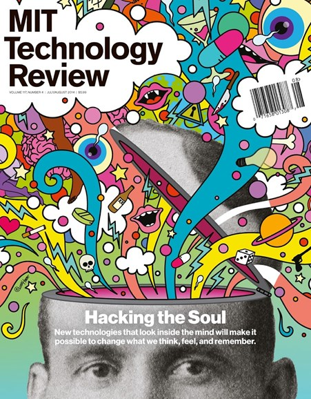 MIT Technology Review Cover - 7/1/2014