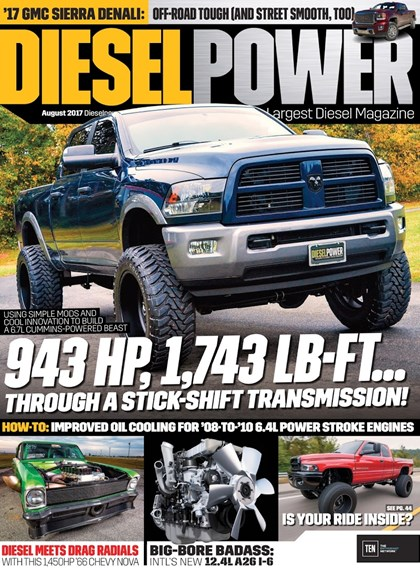 Diesel Power Cover - 8/1/2017
