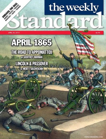 Washington Examiner Cover - 4/20/2015