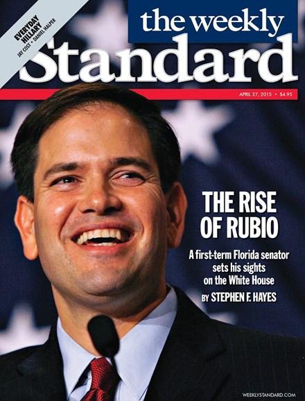 Washington Examiner Cover - 4/27/2015
