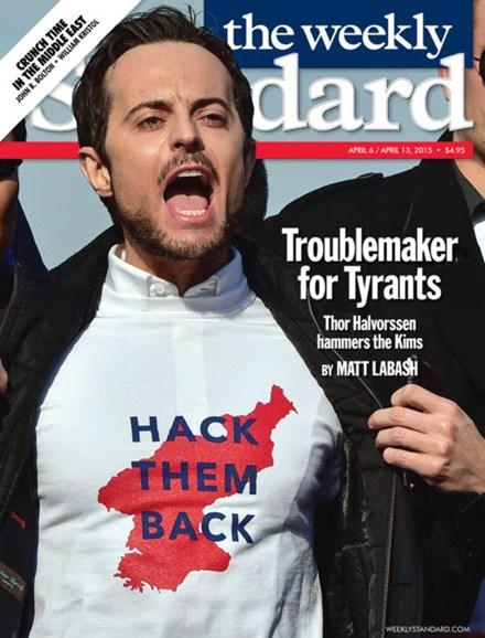 Washington Examiner Cover - 4/6/2015