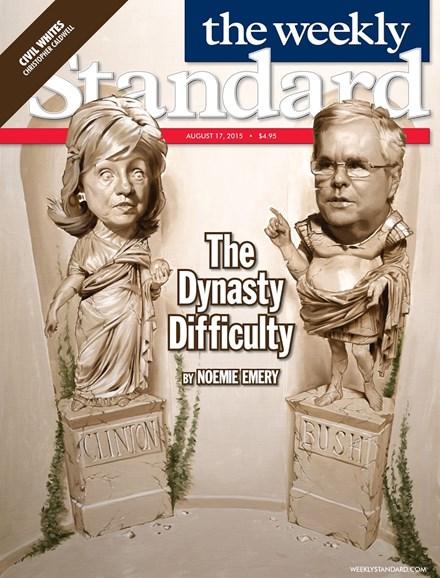 Washington Examiner Cover - 8/17/2015
