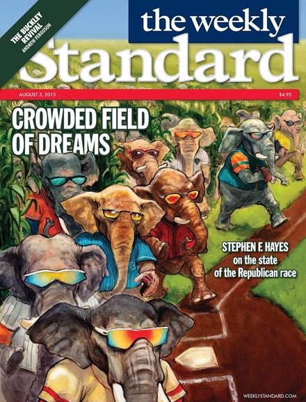 Washington Examiner Cover - 8/3/2015