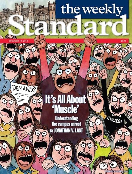 Washington Examiner Cover - 12/14/2015
