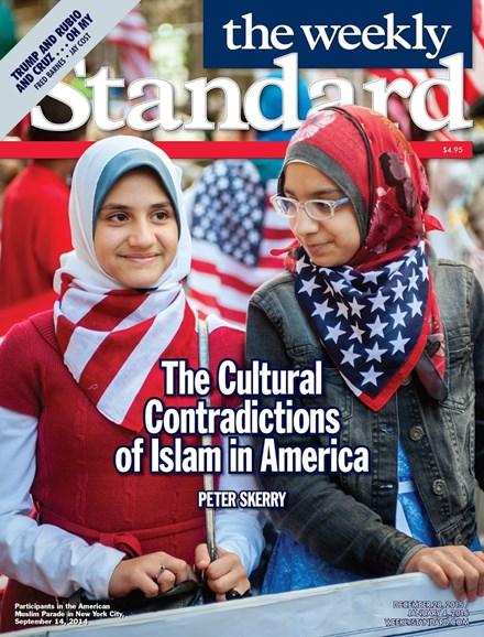 Washington Examiner Cover - 12/28/2015