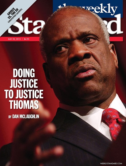 Washington Examiner Cover - 7/20/2015