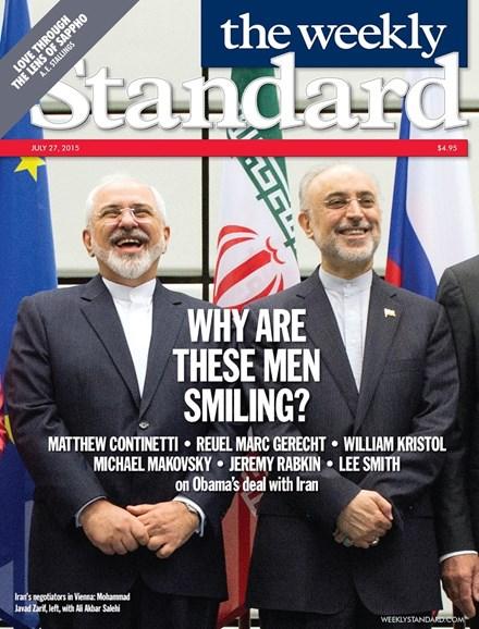 Washington Examiner Cover - 7/27/2015