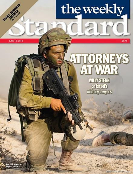 Washington Examiner Cover - 6/15/2015
