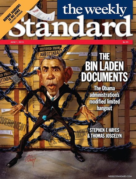 Washington Examiner Cover - 6/1/2015