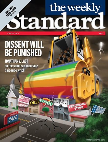 Washington Examiner Cover - 6/22/2015