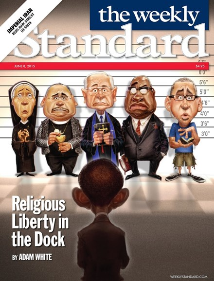 Washington Examiner Cover - 6/8/2015