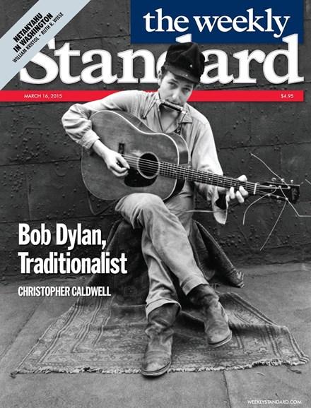 Washington Examiner Cover - 3/16/2015