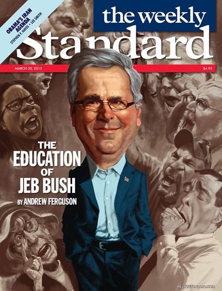 Washington Examiner Cover - 3/30/2015