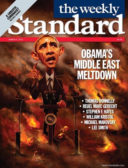 Washington Examiner Cover - 3/9/2015
