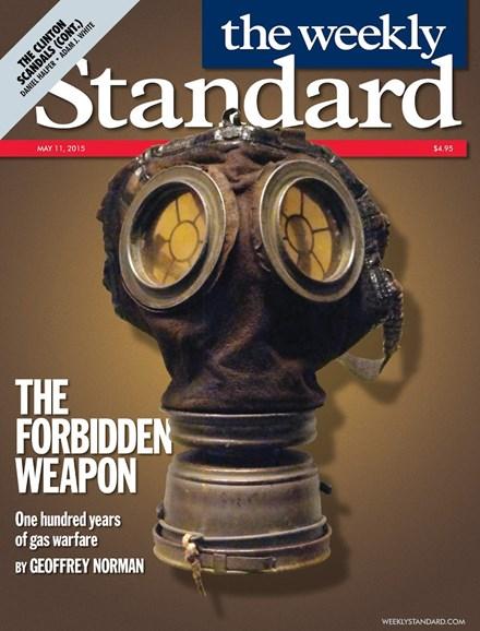 Washington Examiner Cover - 5/11/2015