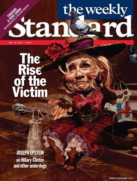Washington Examiner Cover - 5/18/2015