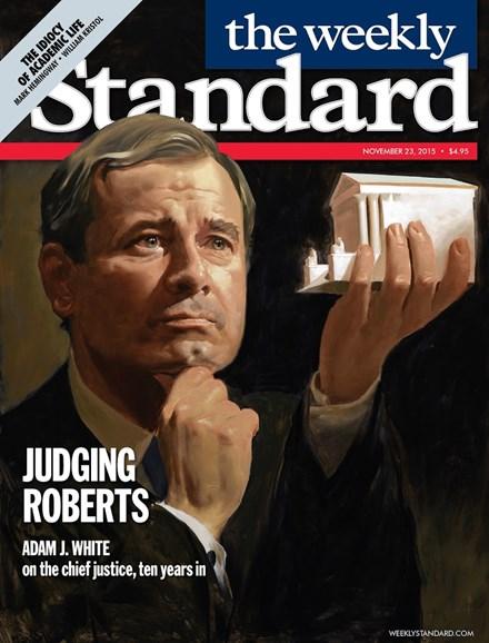 Washington Examiner Cover - 11/23/2015