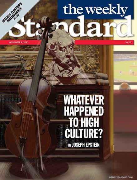 Washington Examiner Cover - 11/9/2015
