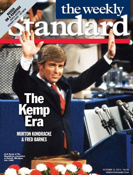 Washington Examiner Cover - 10/12/2015