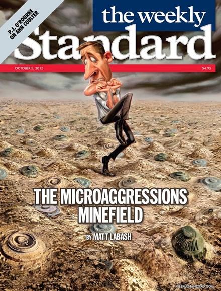 Washington Examiner Cover - 10/5/2015