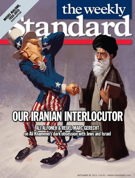 Washington Examiner Cover - 9/21/2015