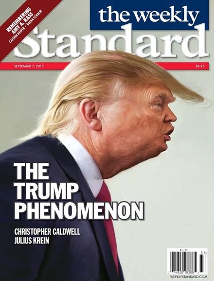 Washington Examiner Cover - 9/7/2015