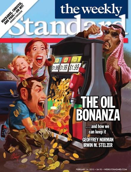 Washington Examiner Cover - 2/16/2015