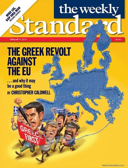 Washington Examiner Cover - 2/9/2015