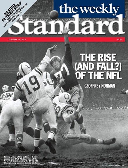 Washington Examiner Cover - 1/19/2015