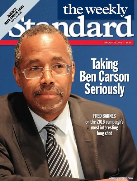 Washington Examiner Cover - 1/26/2015