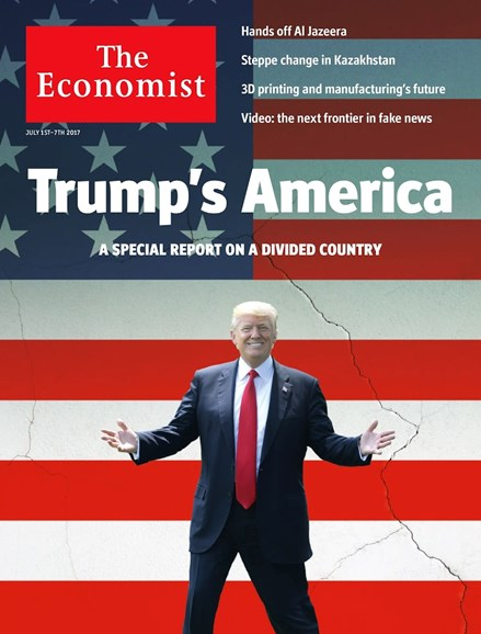 The Economist Cover - 7/1/2017