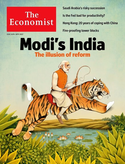 The Economist Cover - 6/24/2017