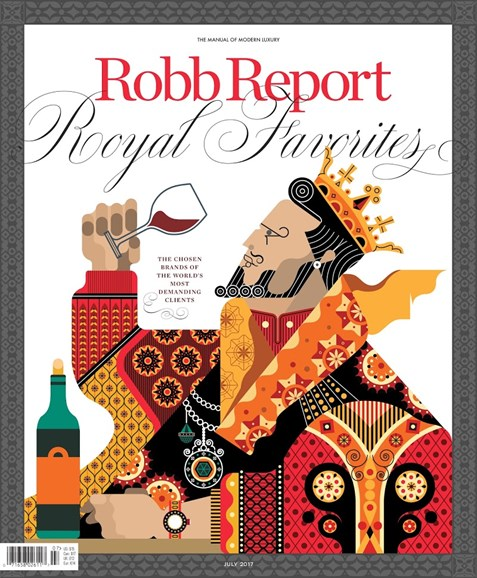 Robb Report Cover - 7/1/2017